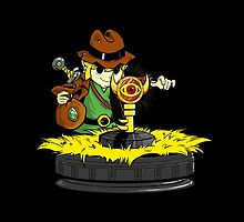 Raiders of the boss key by coinbox tees