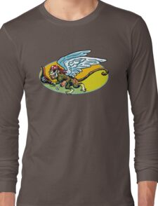 Flying Monkey Pirate Long Sleeve T-Shirt