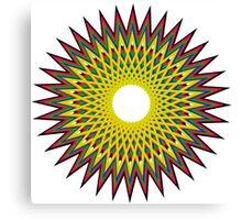 Psychedelic Spiro  Canvas Print