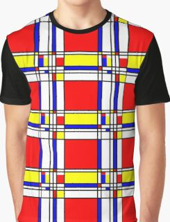 Piet Mondrian-Inspired 3 Graphic T-Shirt