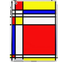 Piet Mondrian-Inspired 3 iPad Case/Skin