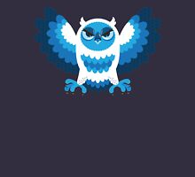 Angry Winter Owl Unisex T-Shirt