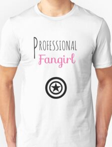 Professional Fangirl - Captain America T-Shirt