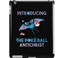 Pokemon GO: Zubat, The Poke Ball Antichrist! iPad Case/Skin