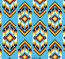 Native American Design Bead Pattern SKY by Carolina Swagger