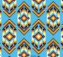 Native American Design Bead Pattern SKY by Carolina Swagger