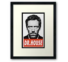 (SERIES) Dr. House Framed Print