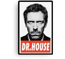 (SERIES) Dr. House Canvas Print