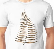 Palm Leaf – Sepia Unisex T-Shirt