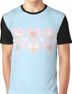 Pastel Sweets Graphic T-Shirt