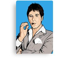 Al Pacino Scarface Pop Art  Canvas Print