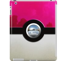 Pink Pokeball iPad Case/Skin