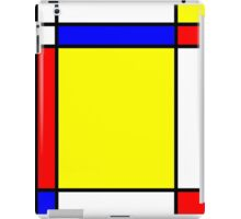 Piet Mondrian-Inspired 5 iPad Case/Skin