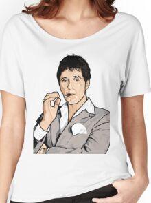 Al Pacino Scarface Pop Art  Women's Relaxed Fit T-Shirt