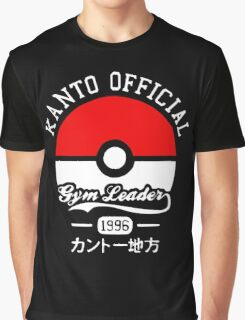 Kanto Official - Pokémon Graphic T-Shirt