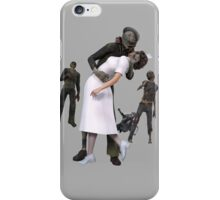 Zombies Kiss 2 iPhone Case/Skin