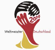 FIFA World Cup Champion  Deutschland Glückwunsch Kids Clothes