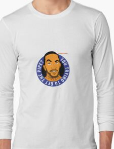 """JR Smith - """"you trying to get the pipe"""" @theknickswall Long Sleeve T-Shirt"""