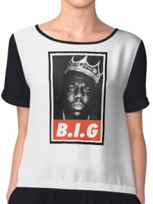 (MUSIC) Notorious Big Chiffon Top