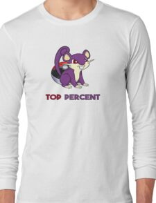 Pokemon GO: Rattata - TOP PERCENT Long Sleeve T-Shirt
