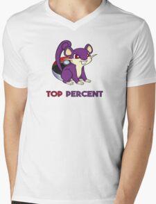 Pokemon GO: Rattata - TOP PERCENT Mens V-Neck T-Shirt