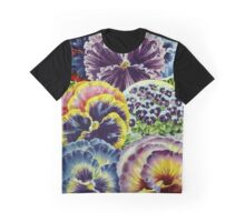 Floral Pansy Graphic T-Shirt