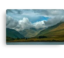 Cloudy afternoon in Connemara Canvas Print