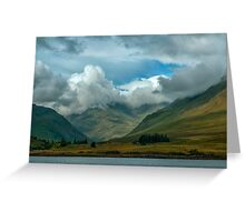 Cloudy afternoon in Connemara Greeting Card
