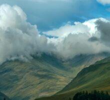 Cloudy afternoon in Connemara Sticker