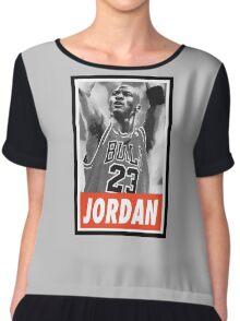 (BASKETBALL) Michael Jordan Chiffon Top