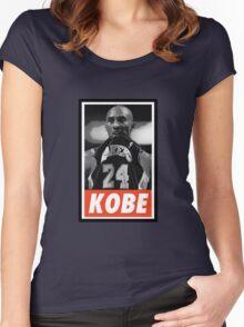 (BASKETBALL) Kobe Bryant Women's Fitted Scoop T-Shirt