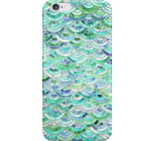 Marble Mosaic in Mint Quartz and Jade iPhone Case/Skin