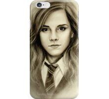 Hermione Granger Emma Watson iPhone Case/Skin