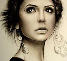 Nina Dobrev  by Knesya