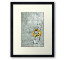 Empty Halo Framed Print