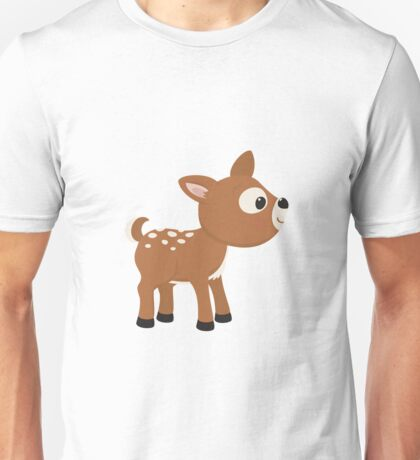 Cartoon Deer Unisex T-Shirt