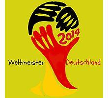 FIFA World Cup Champion  Deutschland Glückwunsch Photographic Print