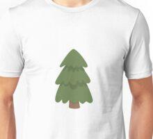 Cartoon Evergreen Tree Unisex T-Shirt