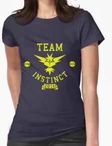 team instinct - pokemon Womens Fitted T-Shirt