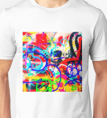 Crazy Graffiti Unisex T-Shirt