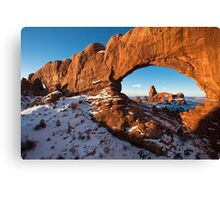 turret arch Canvas Print