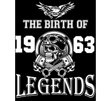 1963-THE BIRTH OF LEGENDS Photographic Print
