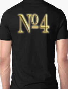 4, NUMBER 4, GOLDEN 4, NUMBER FOUR, FOUR, 4, FOURTH, Competition, TEAM SPORTS,  Unisex T-Shirt