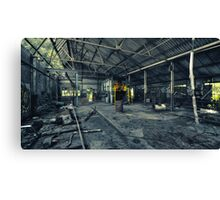 Production Room Canvas Print