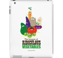 The League of Ridiculous Vegetables iPad Case/Skin