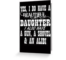 Father's Day Gun Greeting Card