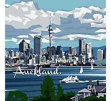 Auckland Harbour Photographic Print