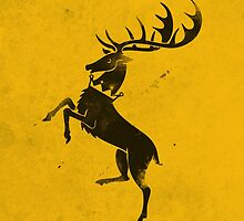 Game of Thrones House Baratheon by dylanwest2010