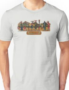 African procession - in leather Unisex T-Shirt