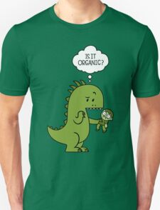 Jurassic World Funny - Is It Organic Unisex T-Shirt